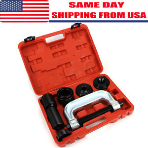 Heavy-Duty-4-in-1-Ball-Joint-Press-amp-U-Joint-Removal-Tool-Kit-with-4x4-Adapters