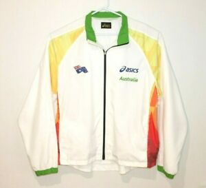 Asics-Swimming-Australia-Team-Issue-Super-Rare-Jacket-Men-039-s-Size-2XL