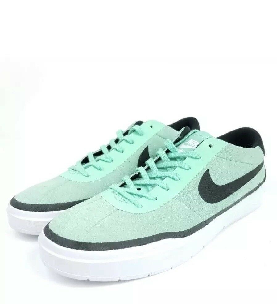 NIKE Bruin Skateboard Hyperfeel Green Mens Sz 13 Shoes Green Hyperfeel Glow White 831756 301 792c70