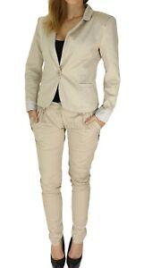 Pantaloni-Completo-Cotone-Blazer-U-Pantaloni-a-Righe-Fodera-S1-Art-2