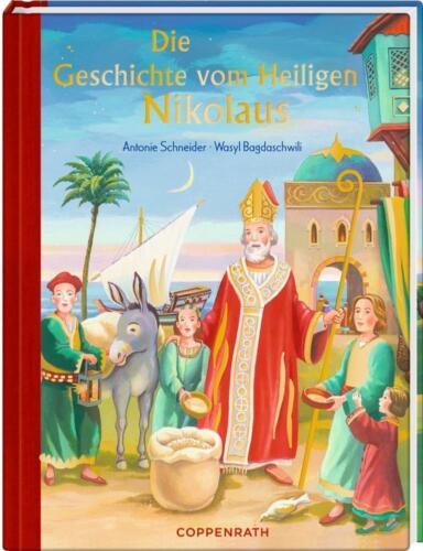 1 von 1 - Coppenrath 61931 Die Geschichte vom Heiligen Nikolaus (Mini-Ausgabe) Neu***