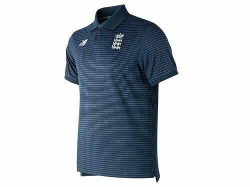 2019 New Balance England Cricket World Cup 19 Polo Shirt Galaxy CMT9018