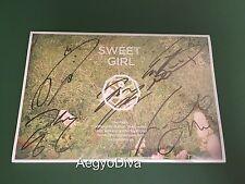 B1A4 Sweet Girl Signed Autographed BANA Album CD K-Pop Kpop