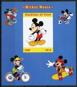 Chad-2018-Gomma-integra-non-linguellato-Mickey-Mouse-1v-IMPF-m-s-Disney-Cartoni-Animati-Animazione