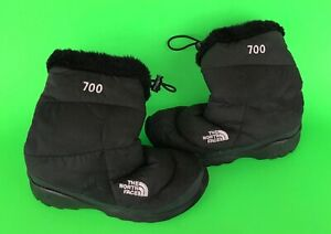 THE-NORTH-FACE-700-Womens-Goose-Down-Insulated-Winter-Snow-Boots-US-6-Black