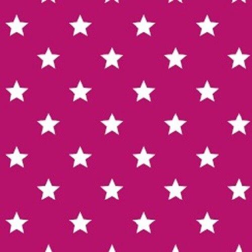 Alkor Sticky Back Plastic Self Adhesive Vinyl Wrap Stars Pink 45cm x 2m