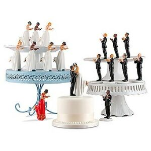 Interchangeable Mix amp Match Ethnic True Romance Wedding Cake
