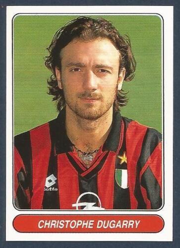 #099-AC MILAN /& FRANCE-CHRISTOPHE DUGARRY PANINI EUROPEAN FOOTBALL STARS 1997