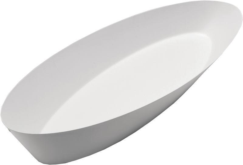 Alessi-CGH04 W Pinpin Cesta de pan, blancoo.