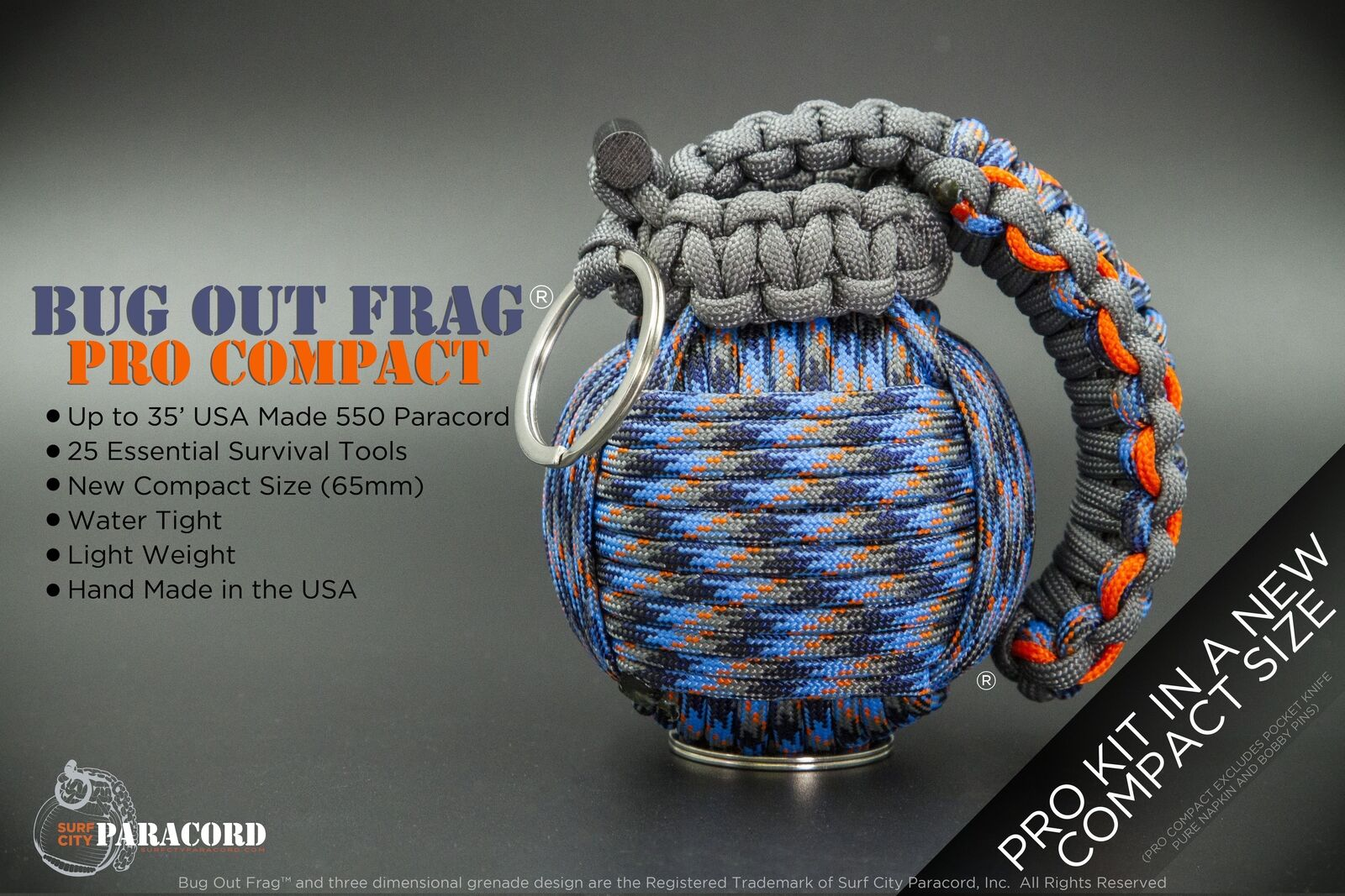 Bug Out Frag  Pro Compact Survival Kit (Survival Camo)
