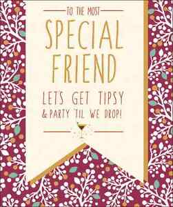 Special friend contemporary christmas card glitter finished xmas image is loading special friend contemporary christmas card glitter finished xmas m4hsunfo