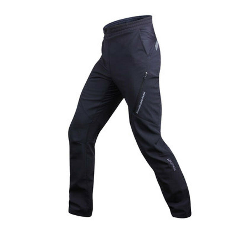 SOBIKE Pantaloni Ciclismo Collant Pantaloni InvernaliGlacier II ColoreeeE NERO NUOVO