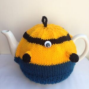 Minions tea cosy knitting pattern birthday present christmas image is loading minions tea cosy knitting pattern birthday present christmas negle Gallery