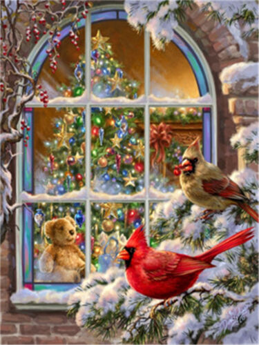 """Christmas Winner Holidays New DIY Paint By Number kit 16x20/"""" Acrylic Painting"""