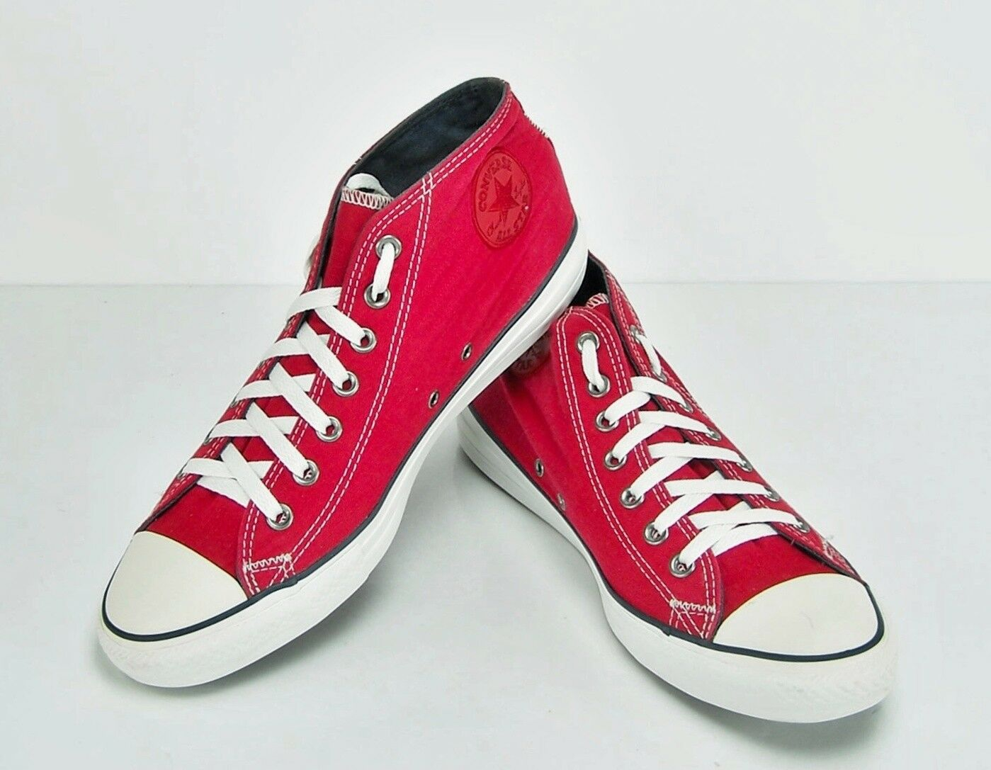 CONVERSE CHUCK TAYLOR ALL STAR MEN'S SIZE 11 HI TOP JESTER RED Model 134583F