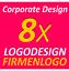 8x-Logo-Vorschlaege-TOP-Service-Firma-Firmengruendung-Firmenlogo-Corporate-Design Indexbild 1