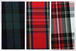 Cotton Poplin Tartan Dress Fabric C7121-M