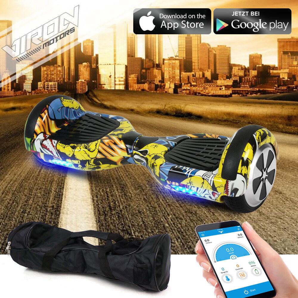 Hoverboard E-Balance Scooter ElektrGoldller Smart Wheel Wheel Wheel Elektro E-Skateboard Neu 8a2e03