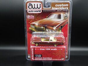 2020 AUTO WORLD 1976 CADILLAC COUPE DEVILLE CUSTOM ...