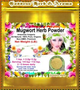 1-LB-Mugwort-Herb-Powder-Artemisia-Vulgaris-PREMIUM-100-pure-Organic-Grown