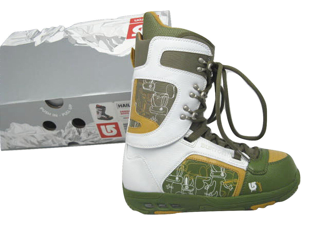 NEW  220 Burton Hail Snowboard Boots   US 7, Mondo 25, Euro 40  GREEN