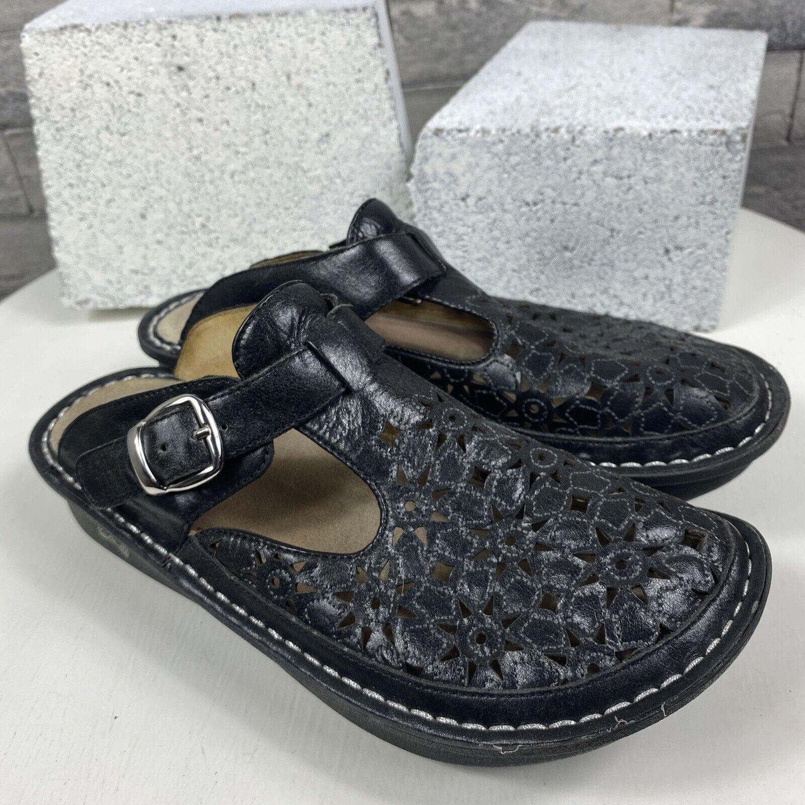 Alegria Classic Breezy Dusty Black Womens Shoes Clog Size 38