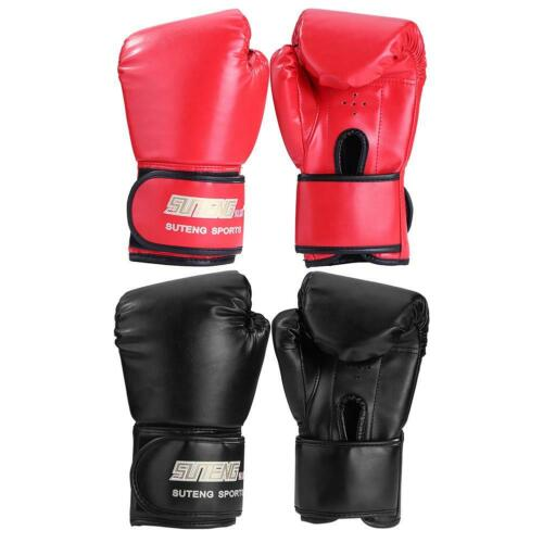 2Pcs Adults Man//Woman Boxing Training Fighting Kickboxing Sponge Gloves USA New