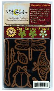 Spellbinders-Shapeabilities-Bugs-Die-Cut-Emboss-amp-Stencil-Set