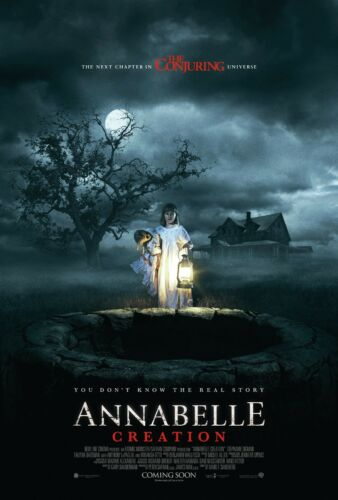 ANNABELLE 2 CREATION POSTER A4 A3 A2 A1 CINEMA MOVIE LARGE FORMAT #2
