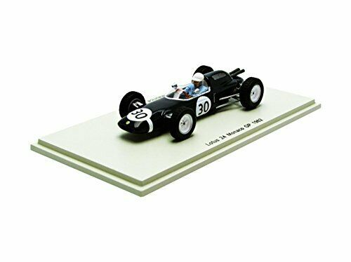Lotus 24 m. trintignant 1962  30  accident monaco gp 1 43 model s2138 spark model  le dernier