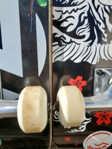Randomized Ideal for Parts or Art Details about  /Used 8 x 32 inch Skateboard