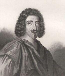 Jean-Louis-Guez-de-Balzac-Membre-Academie-Francaise-Gravure-XIXe