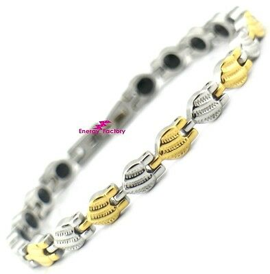 Cute Ladies Magnetic Therapy Germanium Bracelet Bio Energy Arthritis Wristband