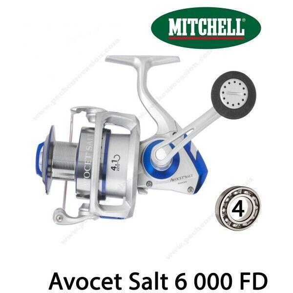 Sea lure reel mitchell avocet 000 fd salt 6