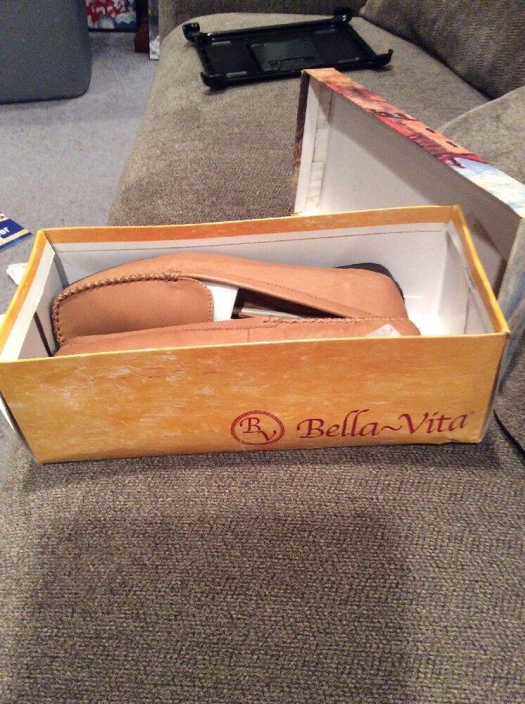 Bella Vita Damenschuhe Schuhes Sz 9 Camel M Leder Flats Tan Camel 9 c7844c
