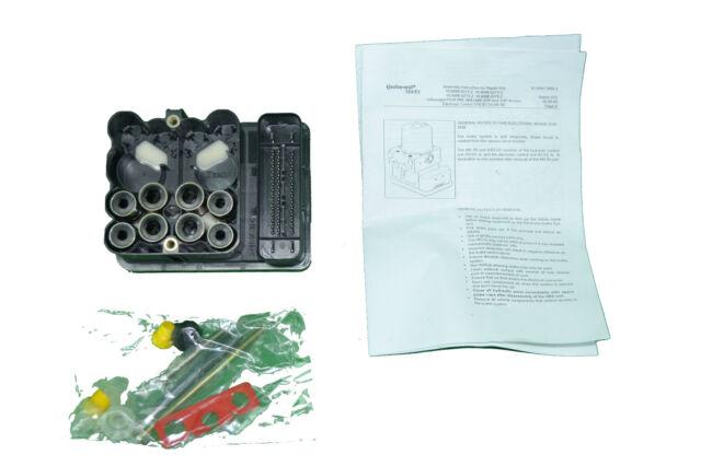 VW Beetle Golf Jetta ABS Controller Module ECU 1C0907375J 1C0907375C 1C0907379J