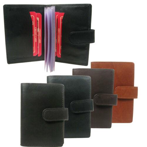 New Hommes Véritable Portefeuille en Cuir Véritable Slim mince carte de crédit titulaire 827