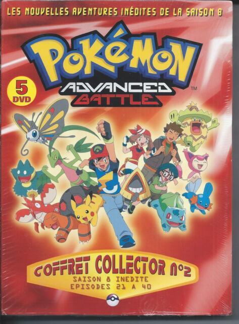 Pokémon Advanced Battle Collector N°2 Saison 8 Coffret 5 DVD Neuf sous blister