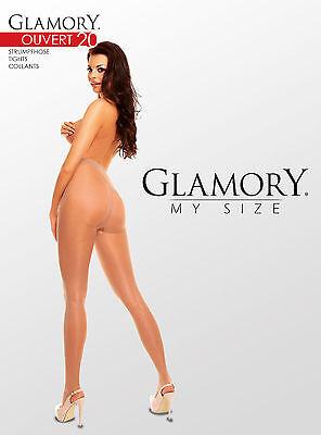 40 Strumpfhose Gr GLAMORY Ouv 40-62 in 2 Farben G-50229