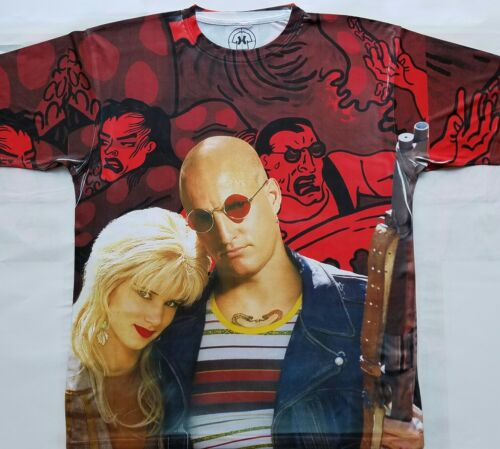 Natural born killers T shirt classic 90s movie micky mallory drugs trip