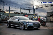20x11 +28 Rohana RC10 5x112 Matte Black Wheel Fit Audi Rs5 V6 V8 Deep Concave