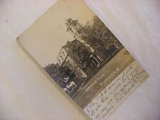 Real Photo Postcard RPPC School House Plymouth Ohio OH 1909  #1881