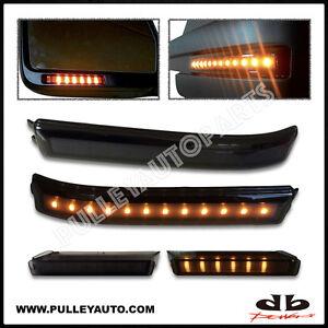 DBMOTOR-2009-2014-F150-Smoked-LED-Mirror-Reflector-amp-Mirror-Turn-Signal-Light