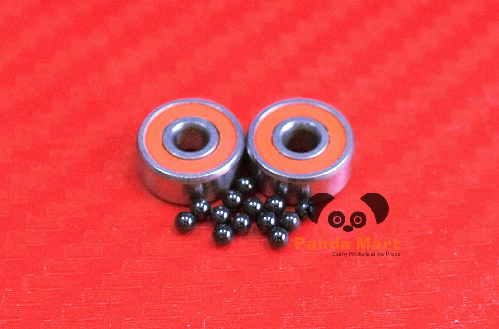 [QTY10] SMR147C-2OS AF2 ABEC-7 HYBRID CERAMIC orange Spool  Bearing 7x14x5 7145  there are more brands of high-quality goods