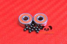 [QTY 1] S686C-2OS LD ABEC-7 HYBRID CERAMIC Orange Spool Bearing 6x13x5 6*13*5