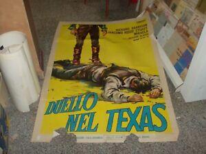 Duel-IN-Texas-Manifesto-2F-Original-1963-R-Harrison-G-Rossi-Stuart