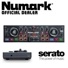 Numark DJ2GO 2 Portable Compact USB Powered Serato 2-Channel DJ Controller