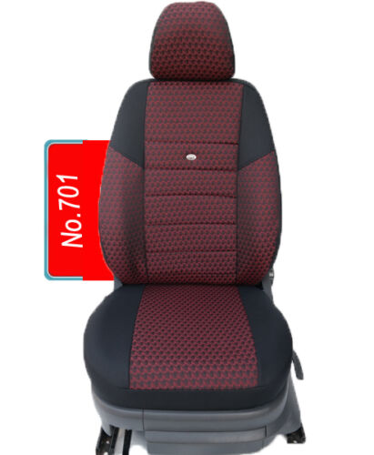 KIA sportage mesure housses de protection sitzbezüge le conducteur et le passager siège auto housses 701