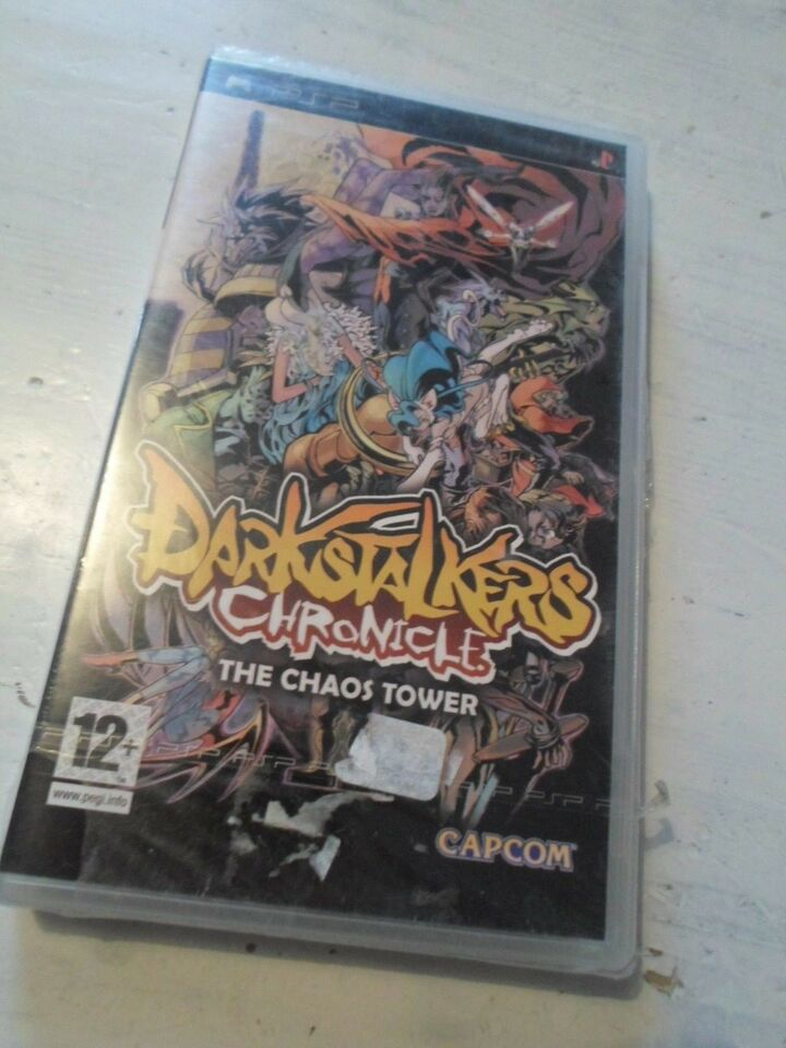 Darkstalkers Chronicle - The Chaos Tower, PSP