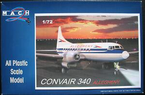 MACH-2-GP052-CONVAIR-340-ALLEGHENY-1-72-Flugzeug-Modellbausatz-Model-Kit